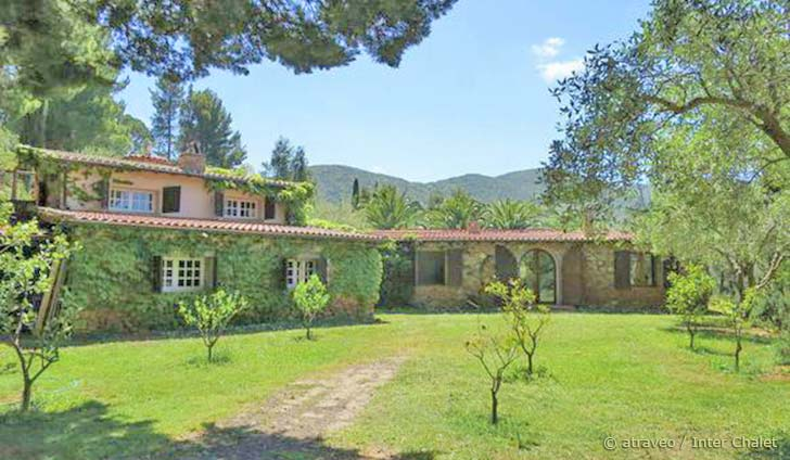 Ferienhaus auf Monte Argentario mit viel Grün