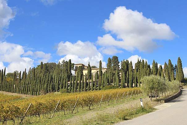 Villa di Albola