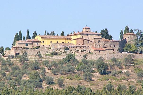 Die Burg Cacchiano
