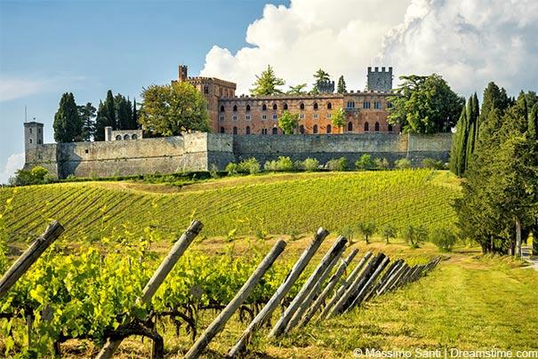 Schlösser und Burgen im Chianti