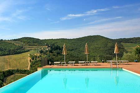 Ferienhaus mit Pool im Chianti finden