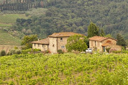 Urlaub auf dem Weingut im Chianti