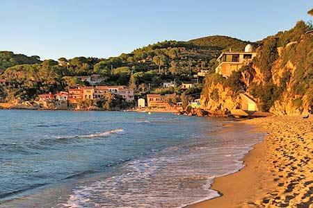 Ferienhaus auf Elba am Wasser mieten