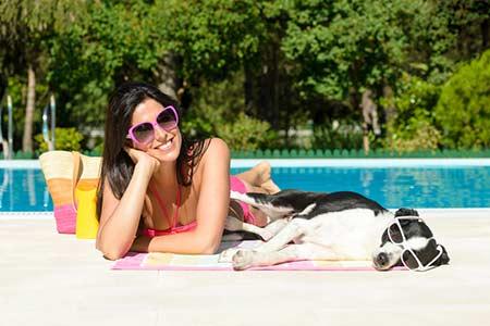 Ferienhäuser für Urlaub mit Hund auf Elba