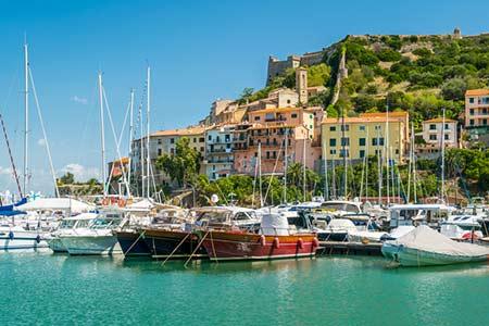Ferienhäuser mit Meerblick auf Monte Argentario