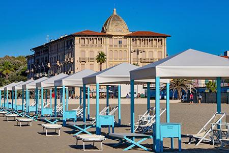 Ferienhäuser & Ferienwohnungen in Viareggio