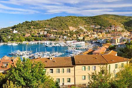 Ferienhäuser mit Meerblick in Porto Santo Stefano