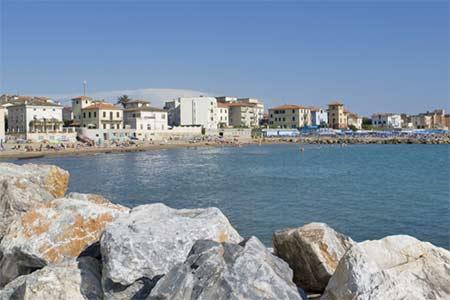 Ferienhäuser mit Meerblick in San Vincenzo