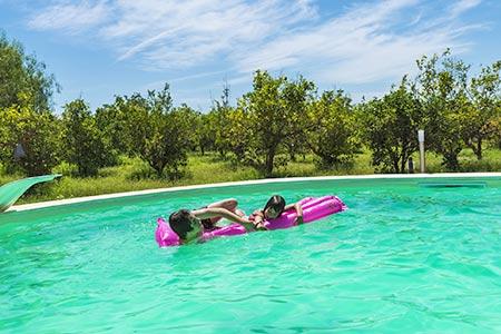Ferienhaus mit Pool an der Etruskischen Küste