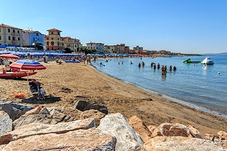 Ferienhäuser & Ferienwohnungen an der Etruskischen Küste