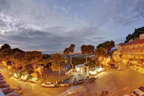 Romantischer Panoramablick