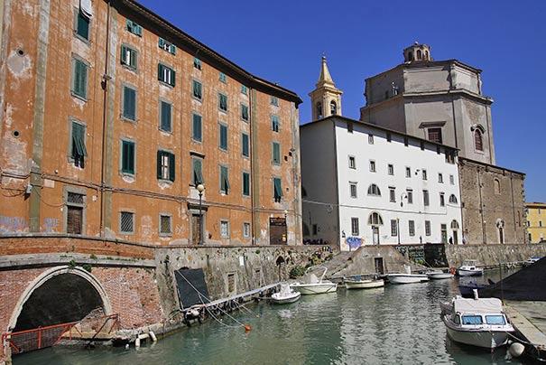 Bezirk Venedig in Livorno
