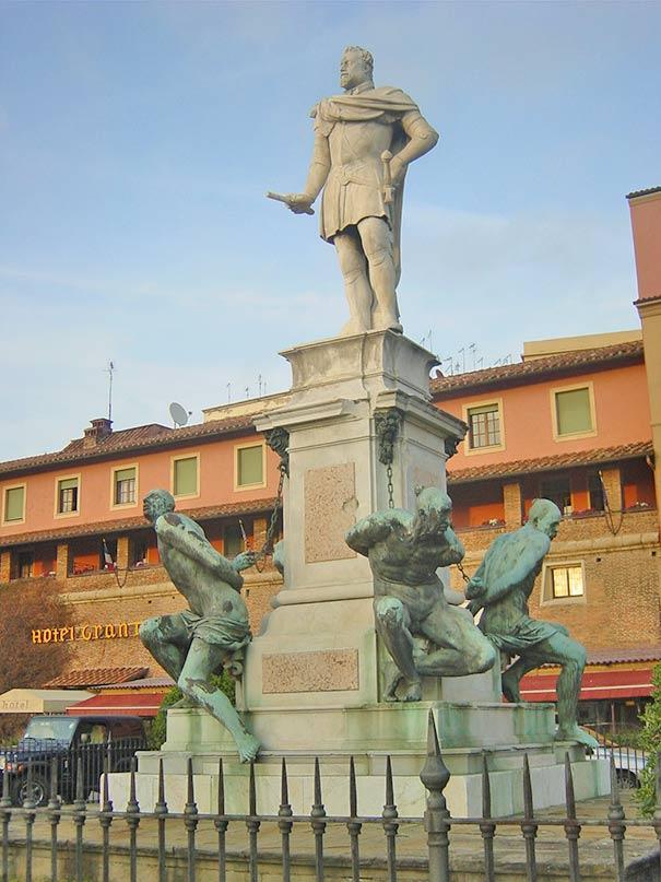 Denkmal Quattro Mori