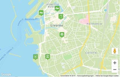Livorno Karte