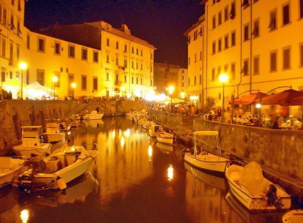 Das Fest Effetto Venezia in Livorno