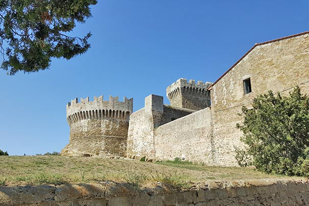 Das Castello di Piombino