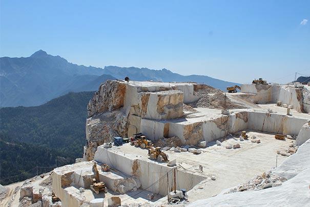Marmorsteinbruch von Carrara