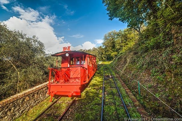 Bergbahn in Montecatini Terme