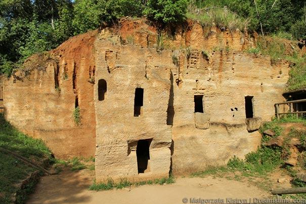 Etruskische Gräber bei Populonia