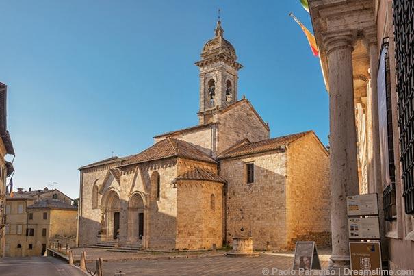 Collegiata-Kirche von San Quirico d'Orcia