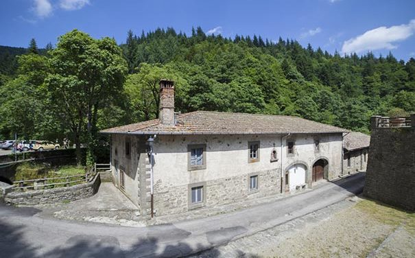 Die Einsiedelei und das Kloster in Camaldoli