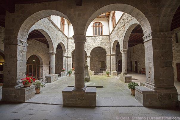 Kloster in Camaldoli