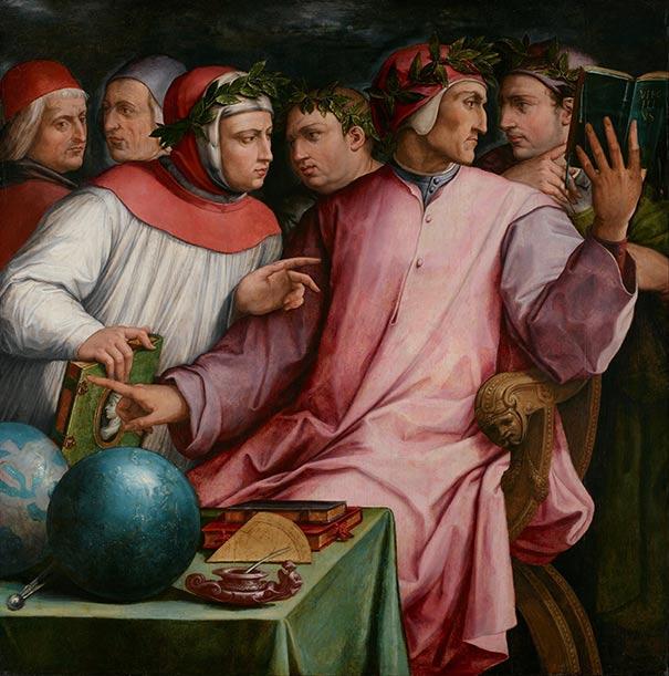 Giorgio Vasari - sechs toskanische Schriftsteller